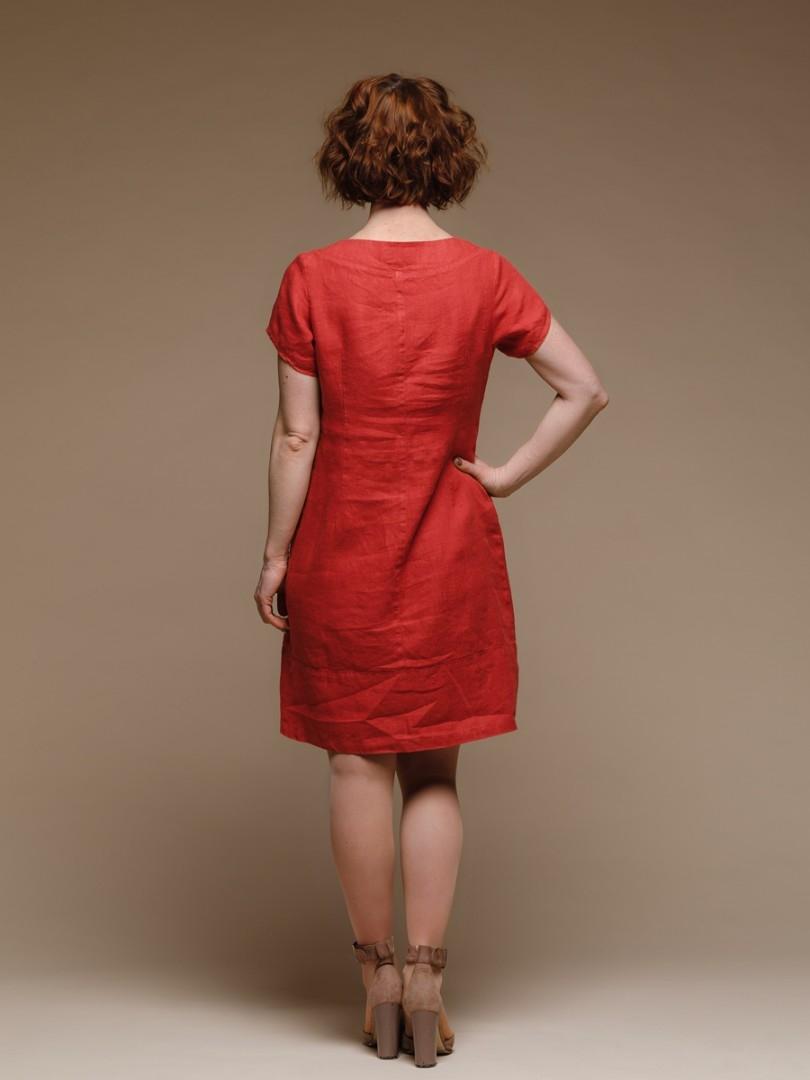 платья из льна купить в москве